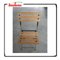 Folding Steel Wooden Chair