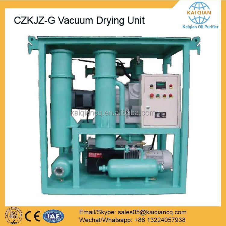 New Condition Vacuum Drying Transformer Pumping Machine