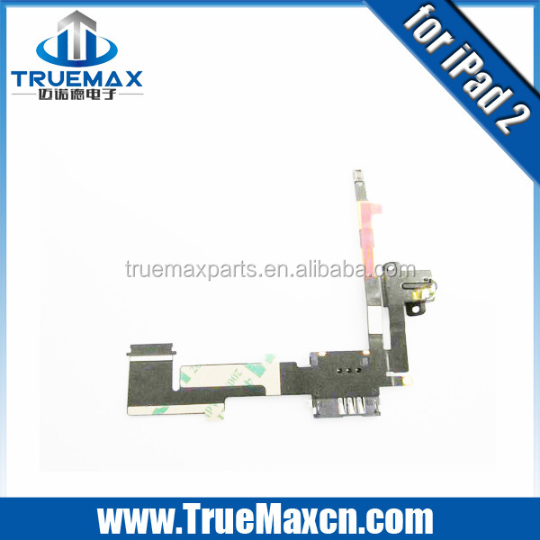 Wholesale Original New Audio Flex For iPad 2 Headphone Jack Flex cable