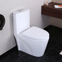 Foshan water closet siphonic one piece sanitary ware girl toilet