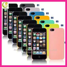 Silicone rubber alcatel phone cases for Samsung I9100