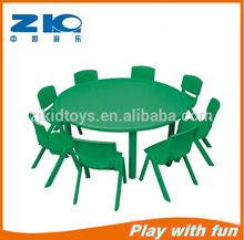 hot sale plastic round table for kids or preschool