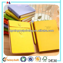 tying rope paper notebook with folder manufacture/producer