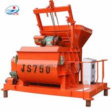 Automatic Bucket Feeding Twin Shaft JS750 Concrete Mixer Machine Prices in Pakistan