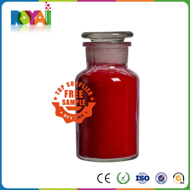 Royai Colors free sample available concrete pigment red powder