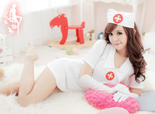 Beautiful costumes for women sexy nude nurse costume sexy babydoll lingerie for nurse