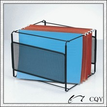 wire mesh hanging document frame container
