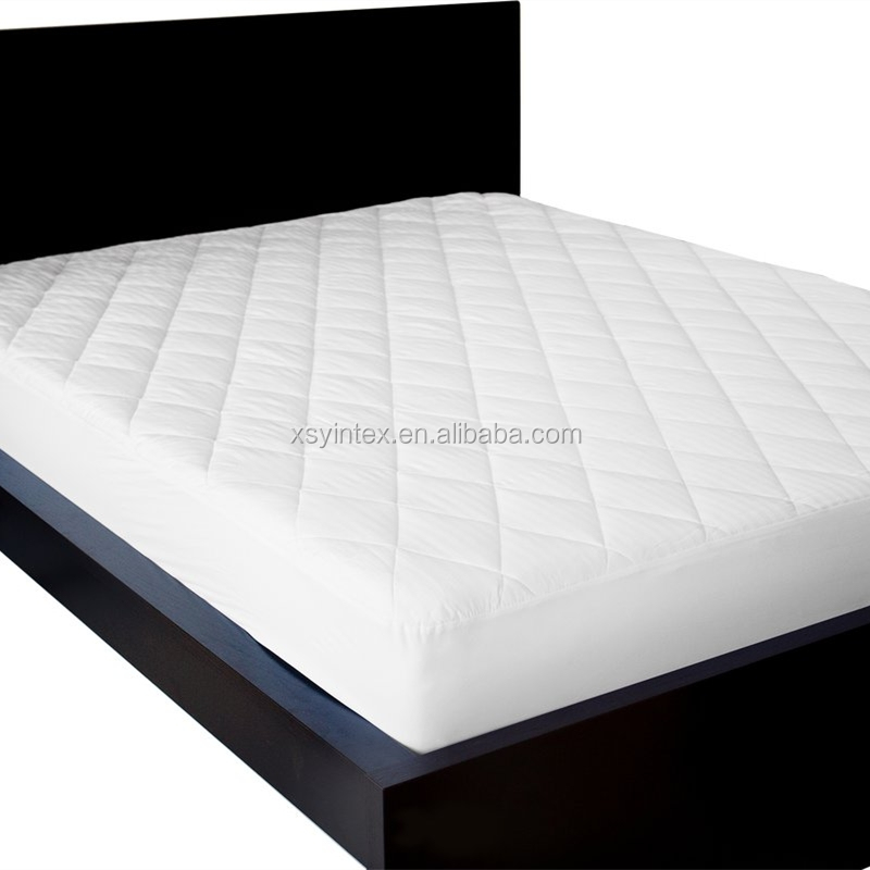 Quilted polyester fiber filling cotton soft thin mattress pad - Jozy Mattress | Jozy.net