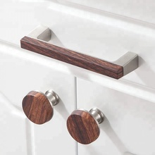 Fancy New Style Wooden Zinc Alloy Home Furniture Kitchen Cabinet Drawer Handles