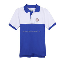 100% Cotton Latest Design Polo Shirt Color Conbination Mens Polo Shirt Design