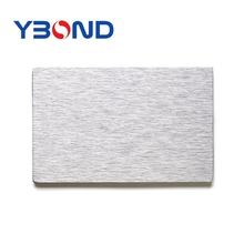 Wall decorations brushed aluminum composite wall panel