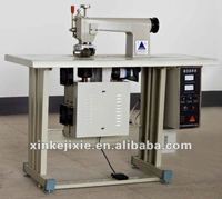 Utrasonic Manul Type Non woven bag making machine