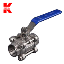 Made in china High pressure threaded ball valves