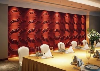wall panels 3d wall panels bamboo plant fiber deco wall covering