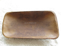 Handmade Primitive Antique Wooden Dough Bowl Trenchers Newborn photo props trench bowl