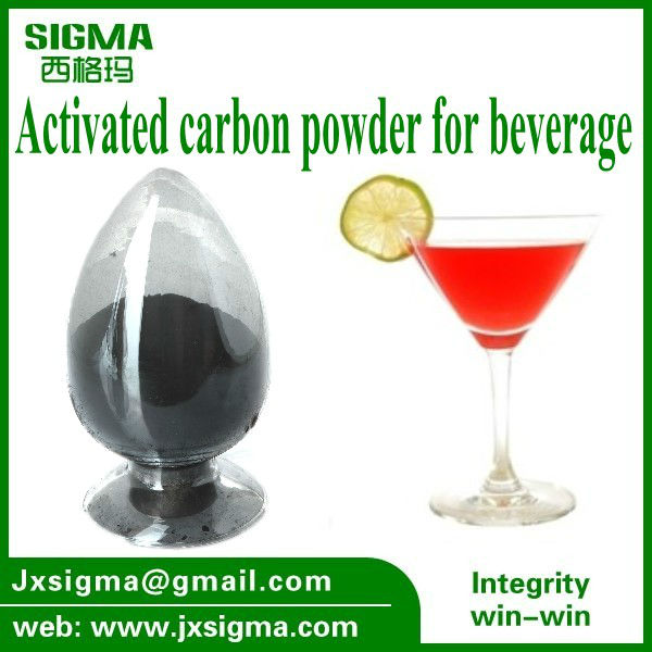 Wooden Powder Activated Carbon Used for Glucose Industry