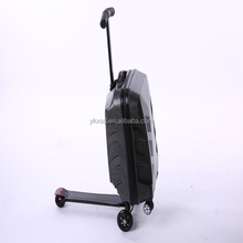 Wholesale foldable suitcase scooter and luggage travel bags
