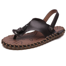 HFCS313 Custom Summer Causal Handmade Brazilian pure leather sandals for men
