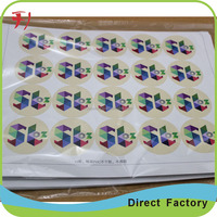 Custom label for parcels, Shipping packaging adhesive paper parcel label fragile