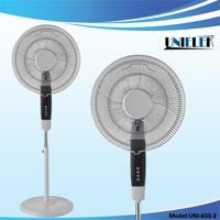 Hot new UNIELEKE general electric bathroom fans 220V oscillation fans electric stand fan