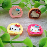 Wholesale 20*17mm Flat Back Kawaii Phone Decoration/Jewelry Resin Accessory/Food Resin Cake Cabochons for Decoration Accessory