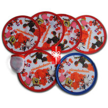 2014 ECO Nylon Foldable Collapsible Frisbee Fan Flyer With Pouch - Gift