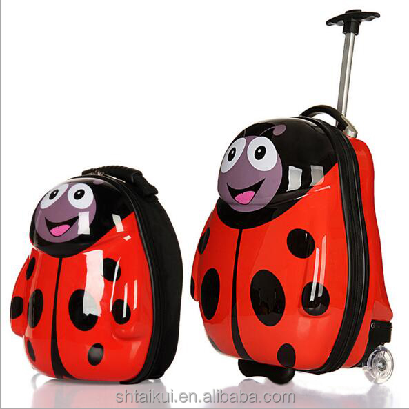 Kids travel trolley bag /travel bag for children 17'' Draw-bar Suitcase