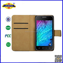 Cell phone PU leather flip case for Samsung Galaxy J7,flip cover wallet case cover for Samsung Galaxy J7----laudtec