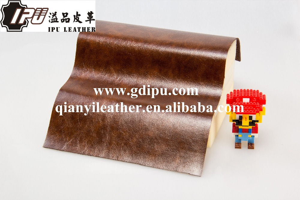 Good looking change color oil wax leather for furniture sofa