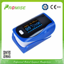 High resolution color display pulse oximeter with battery indication