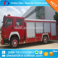 HOWO 4*2 fire fighting vehicle ,forest wooden fire engines