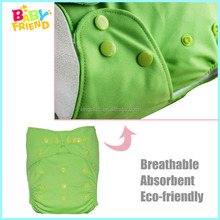 Free Shipping Solid Color Reusable Baby Cloth Diaper