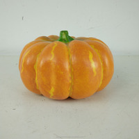 fake fruits pumpkin artificial plastic pumpkin for Halloween decoration