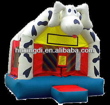mini cow inflatable bouncer inflatable bouncy castle