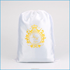 Alibaba wholesale large soft satin dust bag for clothes packaging