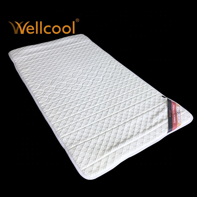 Wellcool customized hospit airflow foldable cooling 3D mesh spacer fabric bed mattress topper - Jozy Mattress | Jozy.net