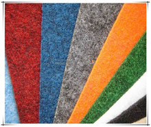 cheap outdoor carpet for decks polyester carpet plain surface non-woven