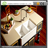 Beige Crystal Quartz Counter Top For