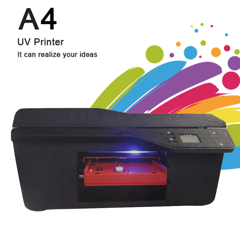 A4 Size Plastisol Transfer Ink PVC Card Printer And Embossed Machine