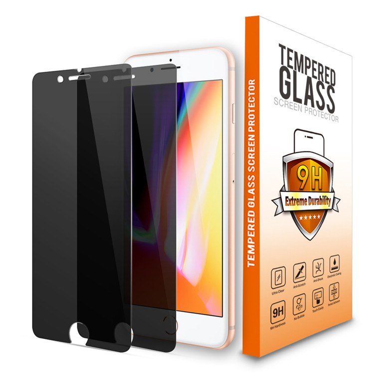 Tempered Glass Screen Protector For iPhone 8[2 Pack ][Combined Package]with accessories