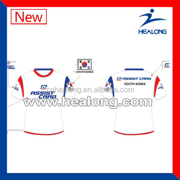 South Korea Soccer Jersey Cheap Soccer Jerseys For Sale Customize Blank Soccer Jersey