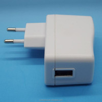 EU 5V power adapter 2.1A white carger adapter for mobile phone
