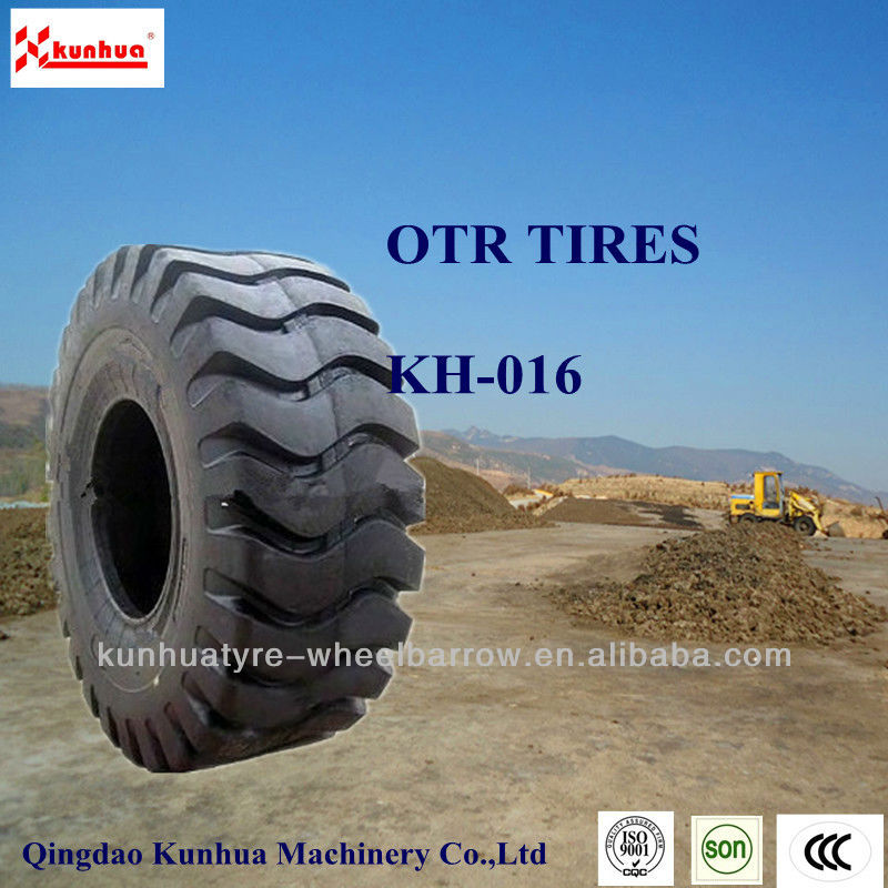 China hot sale OTR tires/tyres with good appearance and high quality 23.5-25/23.5-25TL KH-016