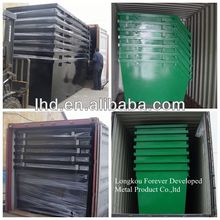 industrial steel metal dust bin for AU.
