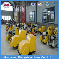 Portable concrete floor saw road cutting saw machine with HONDA engine