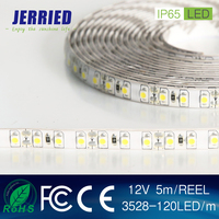 DC12v smd 3528 9.6w/m led strip light 120leds IP65 with CE ROHS kitchen lamp!