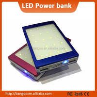 solar power bank LED camping lantern light lighting 200000MAH solar charger for all phone