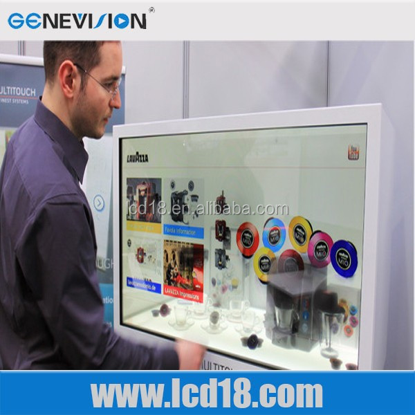 47 inch transparent lcd screen, transparent lcd monitor,transparent lcd showcase