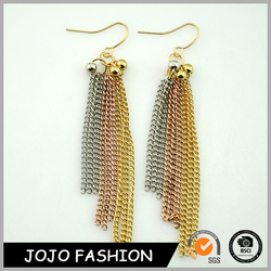 Simple design factory supply cheap bulk earrings jewelry wholesale