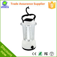 rechargeable cheap solar led lantern with handle and hook of high quality